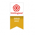 We've Been Awarded a VisitEngland Gold Award!