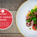 Give your Tummies a Treat... We've won The Diners Choice Award 2018