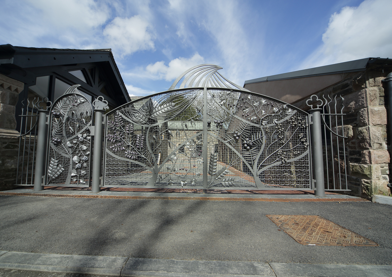 The Lakes distillery gates
