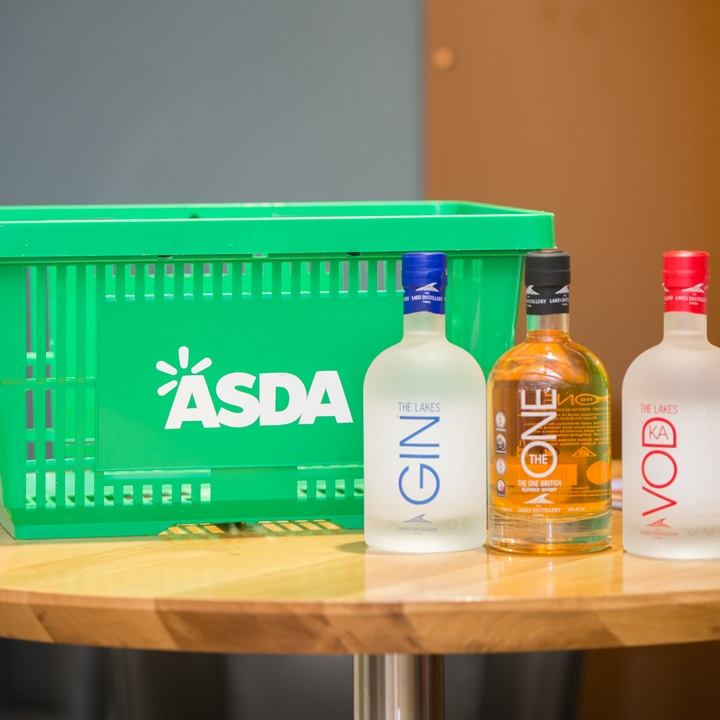 Asda Lakes alcohol selection