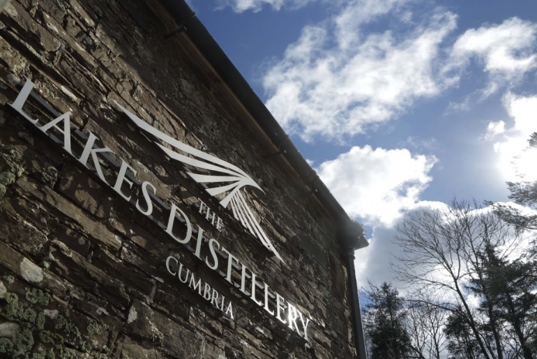 Lakes Distillery Cumbria building