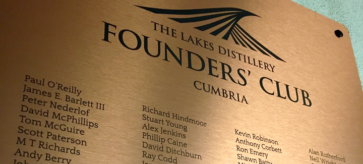 The Lakes Distiller Founders Club