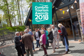 Cumbria Tourism Awards 2018 Banner Lakes Distillery