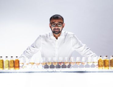 Dhavall Gandhi, The Lakes Distillery's whiskymaker