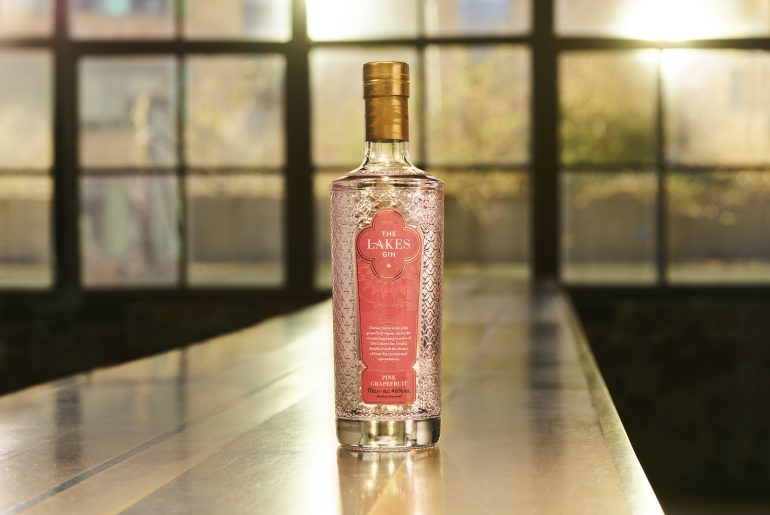 The Lakes Pink Grapefruit Gin