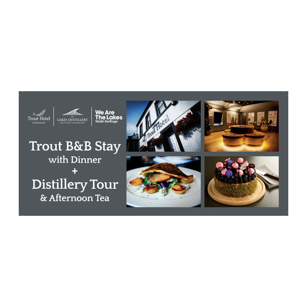 2 Night Hotel Stay, Tour and Afternoon Tea Gift Voucher - Online