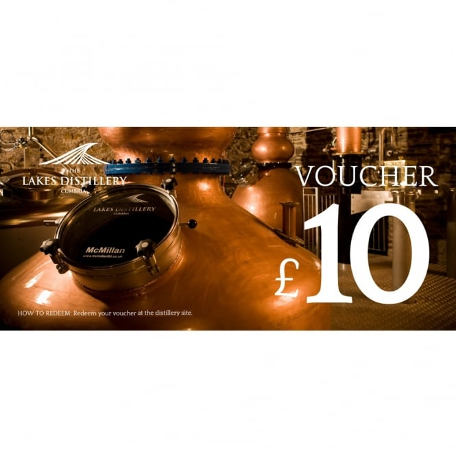 The Lakes Distillery £10 Gift Voucher