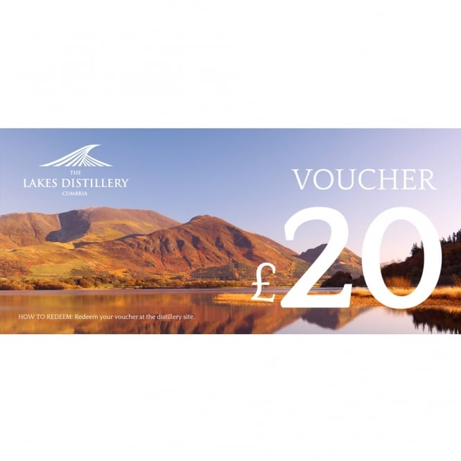 The Lakes Distillery £20 Gift Voucher