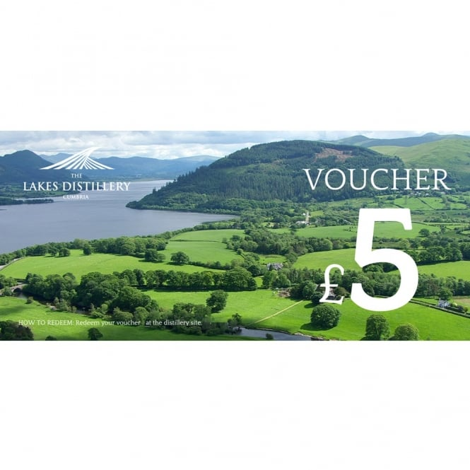 The Lakes Distillery £5 Gift Voucher