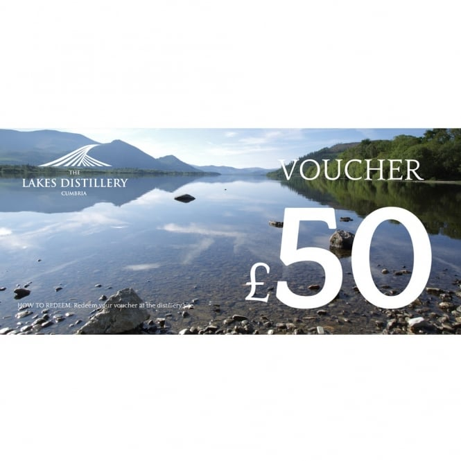 The Lakes Distillery £50 Gift Voucher