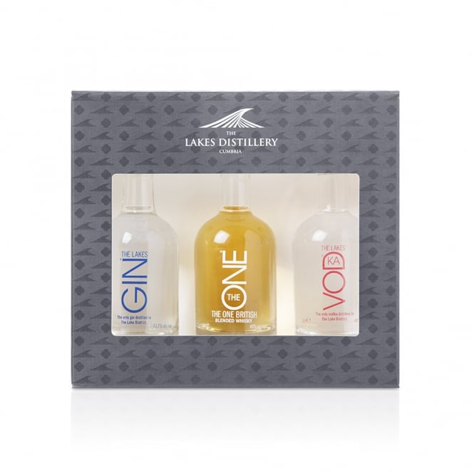 The Lakes Distillery 5cl Mixed Miniature Gift Pack