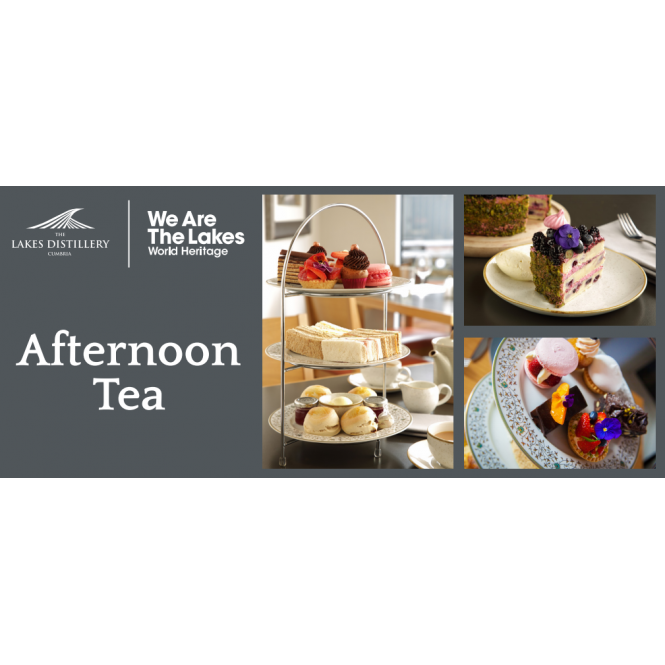 The Lakes Distillery Afternoon Tea Gift Voucher