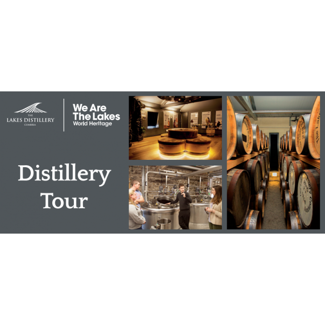 The Lakes Distillery Distillery Tour Gift Voucher