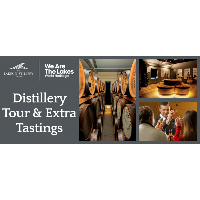 The Lakes Distillery Distillery Tour with Extra Tastings Gift Voucher
