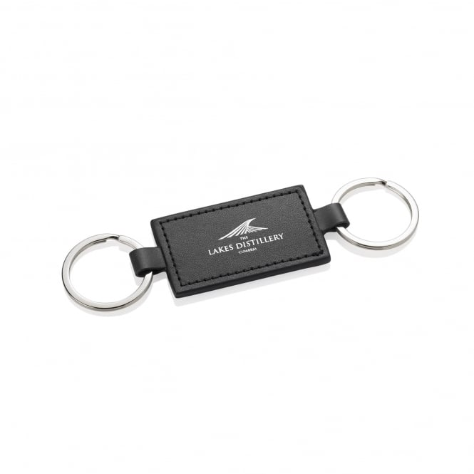 The Lakes Distillery Double Keyring