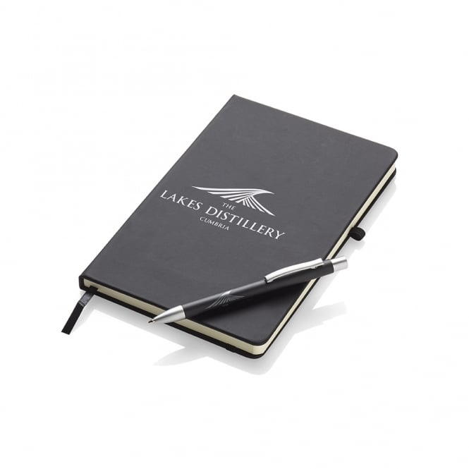 The Lakes Distillery Large Noir Notebook