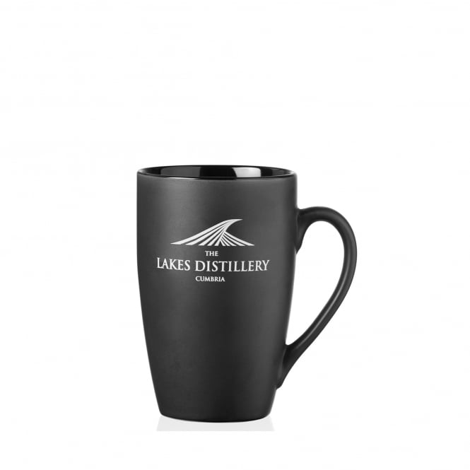 The Lakes Distillery Matte Black Branded Mug