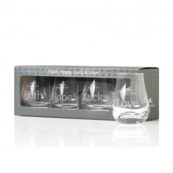 Set of 4 Spey Dram Glasses