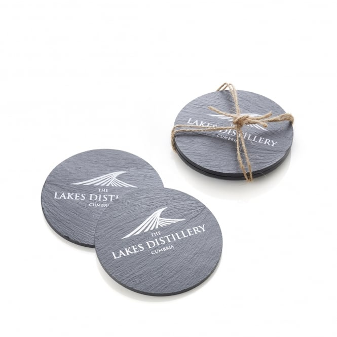 The Lakes Distillery Slate Coasters