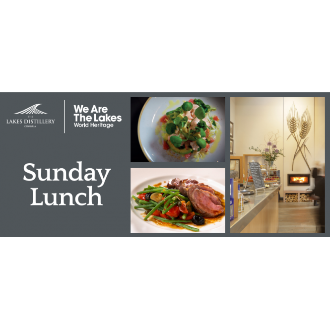 The Lakes Distillery Sunday Lunch Voucher