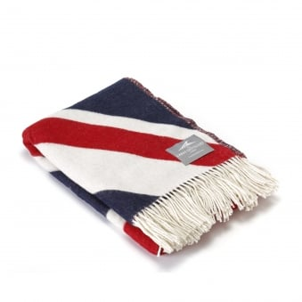 Union Jack Lambswool Throw