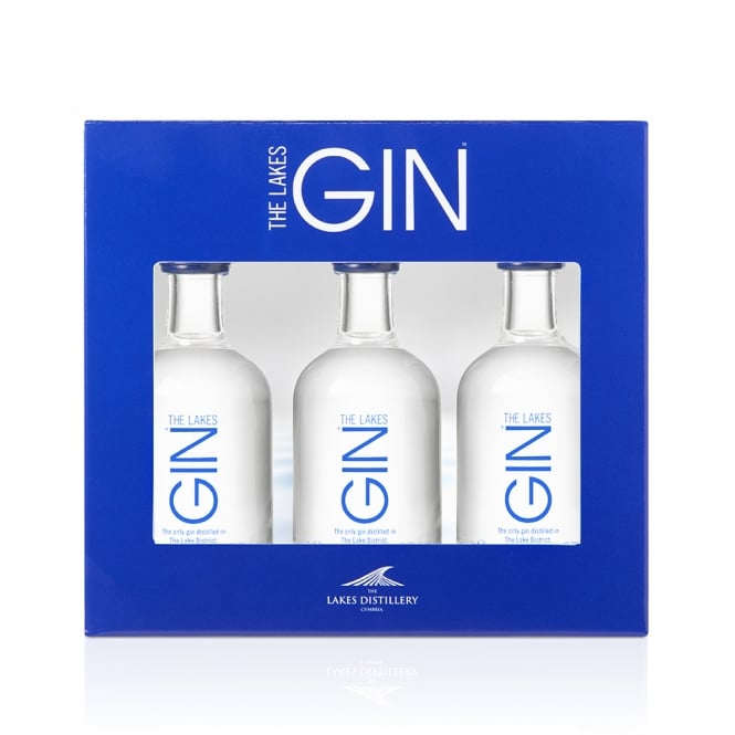 The Lakes Gin 5cl Miniature Gift Pack