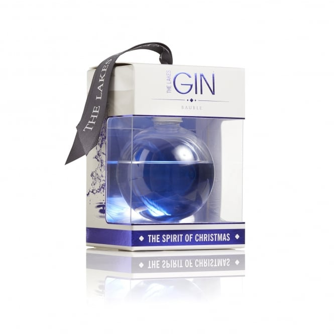 The Lakes Gin Gin Christmas Bauble 20cl