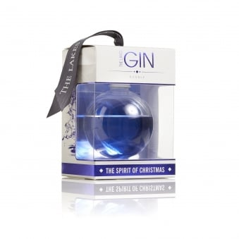 Gin Christmas Bauble 20cl