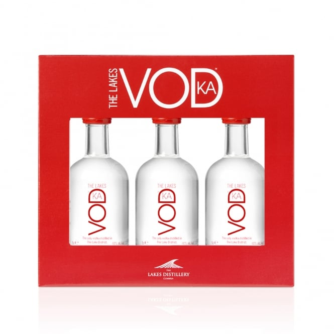The Lakes Vodka 5cl Miniature Gift Pack