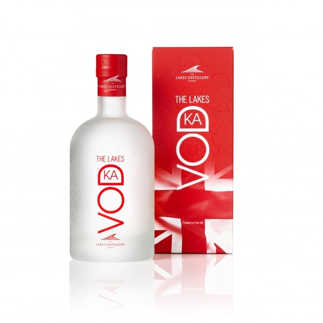 The Lakes Vodka 70cl Gift Box