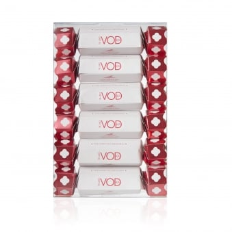 Set of Six Vodka Christmas Crackers