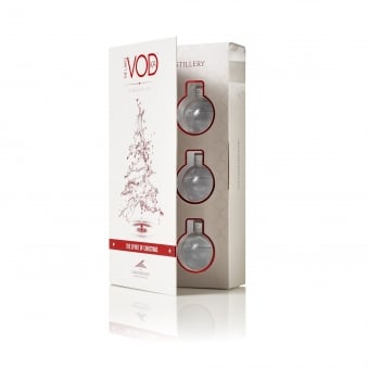 Vodka Bauble 6-Pack Gift Set