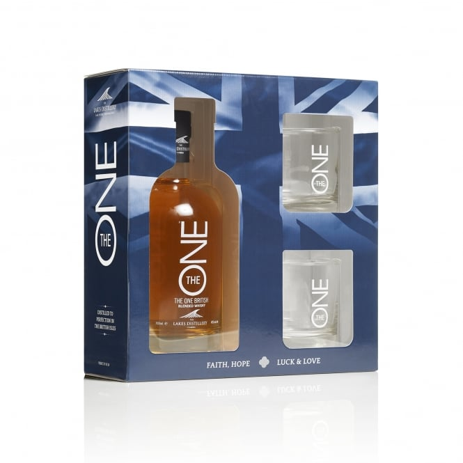 The ONE 70cl Gift Pack with Glasses