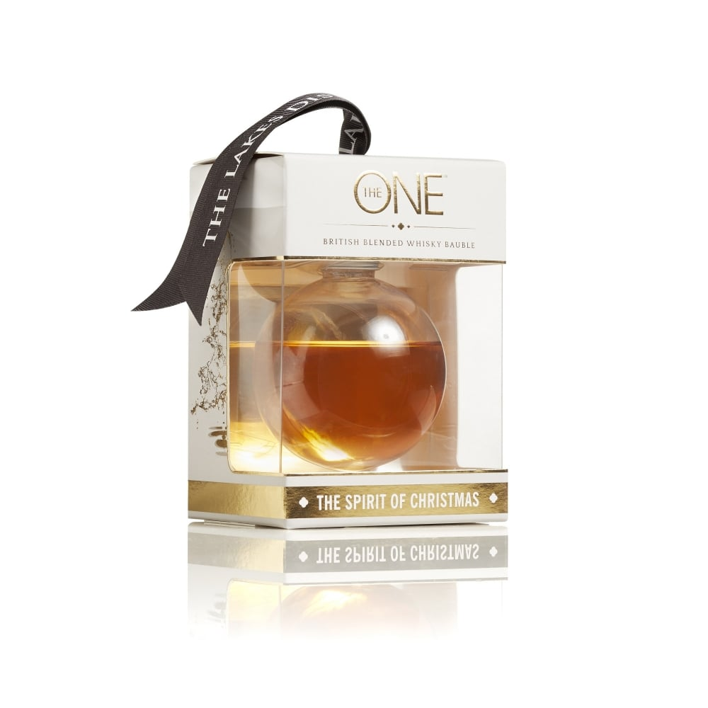 The ONE Whisky Bauble 20cl | Whisky Christmas Gift | Lakes Distillery